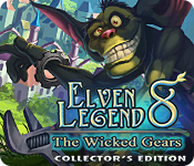 Feature screenshot game Elven Legend 8: The Wicked Gears Collector's Edition