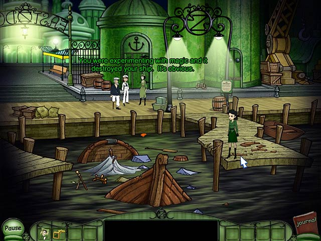 Game screenshot 1 Emerald City Confidential