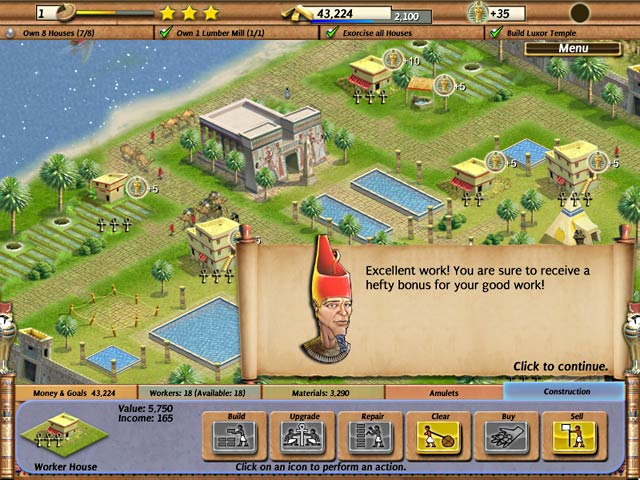 Empire builder ancient egypt ipad iphone android for Building builder online