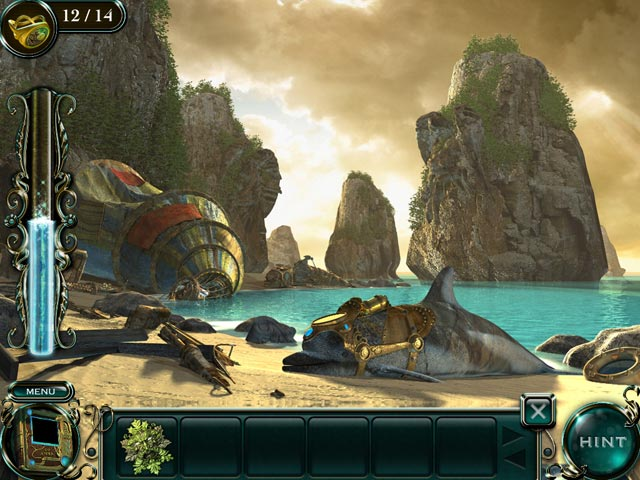 Game screenshot 1 Empress of the Deep 2: Song of the Blue Whale Collector's Edition