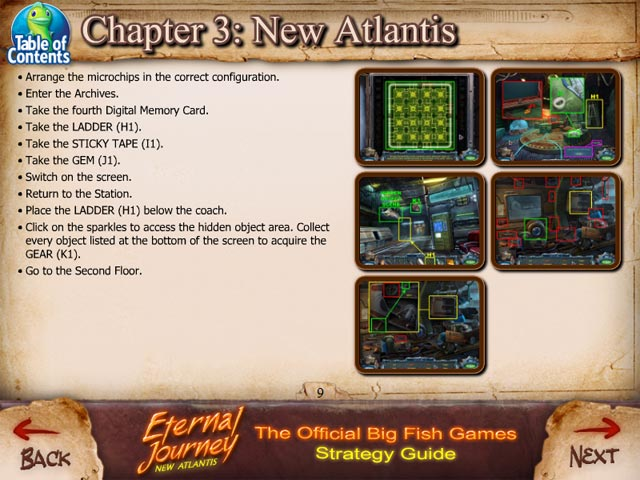 Eternal journey new atlantis strategy guide ipad for Big fish games new
