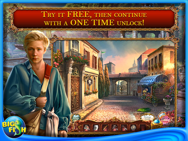 Screenshot for European Mystery: The Face of Envy Collector's Edition