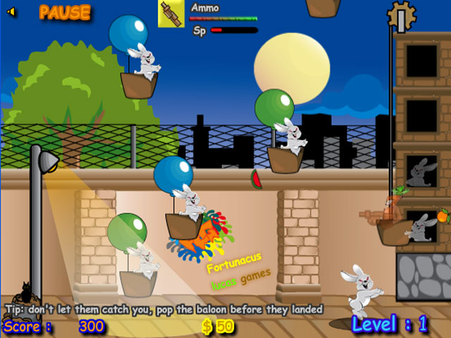 Screenshots Evil Rabbit Attack -