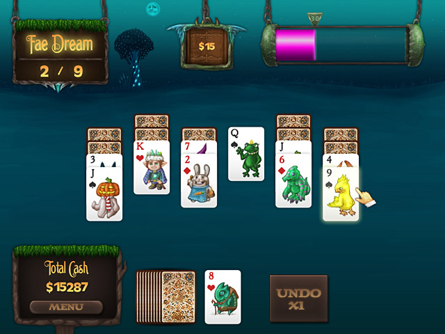 Game screenshot 1 Faerie Solitaire