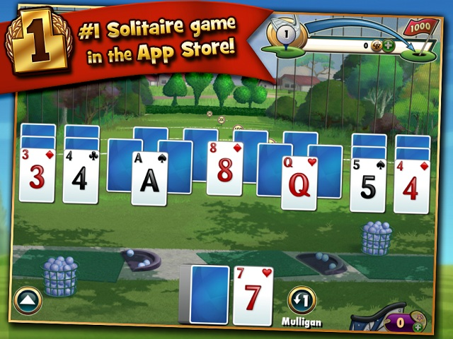 Fairway Solitaire Game