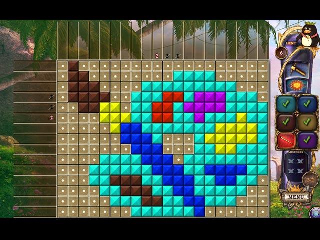 Fantasy mosaics 17 new palette ipad iphone android for Big fish games mac