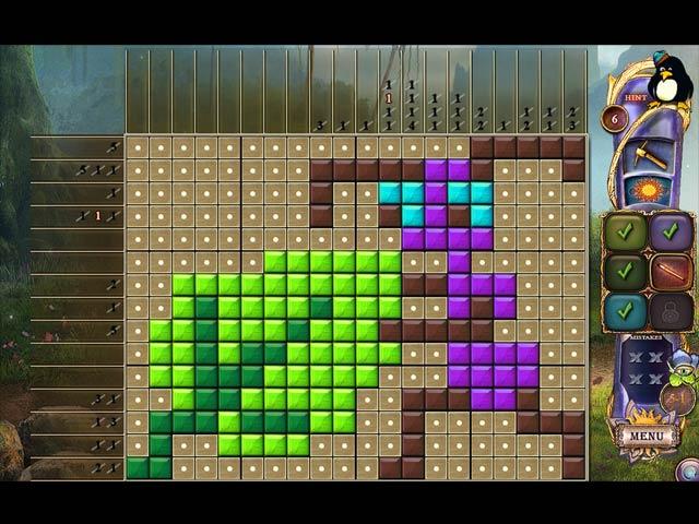 Fantasy Mosaics 23: Magic Forest 2018 pc game Img-4