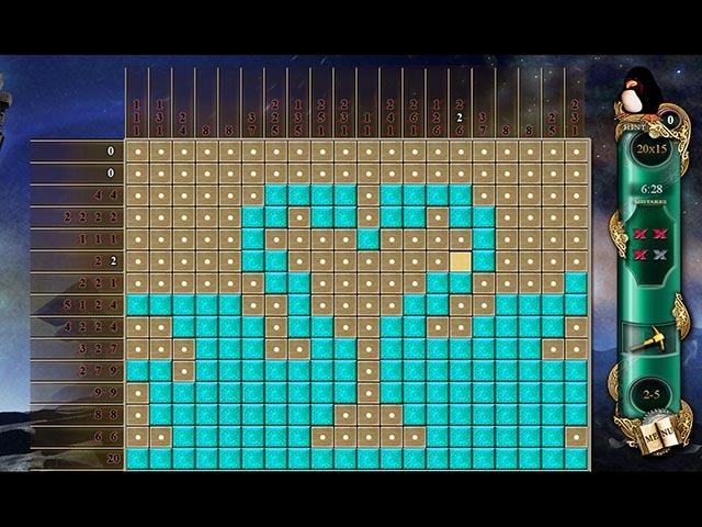 Game screenshot 1 Fantasy Mosaics 3