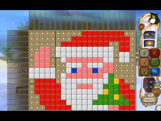 Fantasy Mosaics 32: Santa's Hut img
