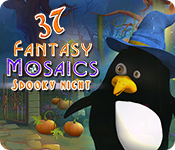 Feature screenshot game Fantasy Mosaics 37: Spooky Night