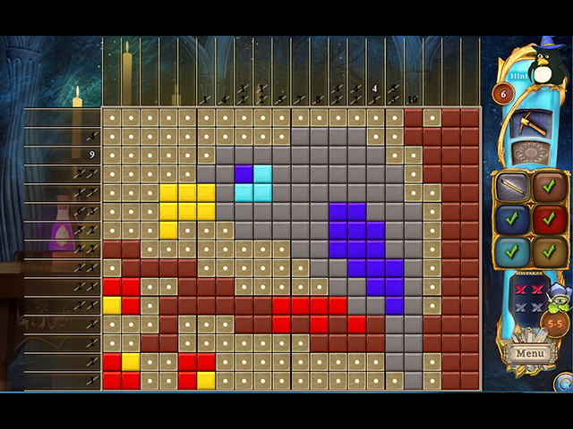 Game screenshot 2 Fantasy Mosaics 37: Spooky Night
