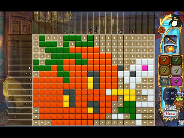 Game screenshot 3 Fantasy Mosaics 37: Spooky Night