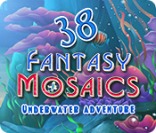 Feature screenshot game Fantasy Mosaics 38: Underwater Adventure