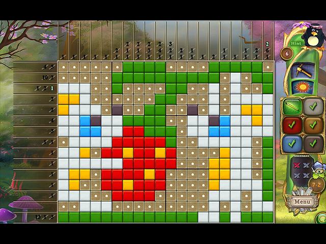 Game screenshot 1 Fantasy Mosaics 39: Behind the Mirror
