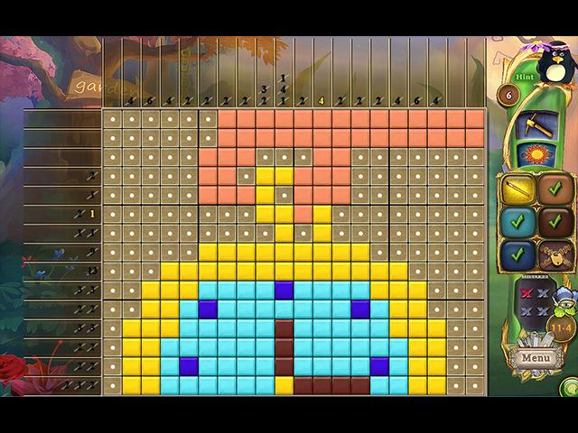 Game screenshot 2 Fantasy Mosaics 39: Behind the Mirror