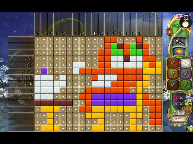 Game screenshot 3 Fantasy Mosaics 39: Behind the Mirror