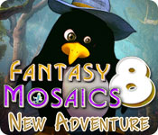 Feature screenshot game Fantasy Mosaics 8: New Adventure