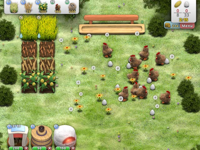 Farm fables ipad iphone android mac pc game big fish for Fish farm games