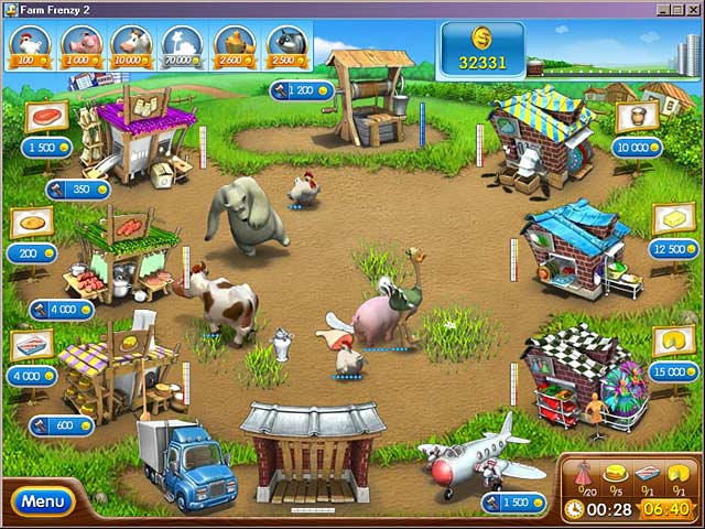 Play farm frenzy 2 online games big fish for Big fish games video games
