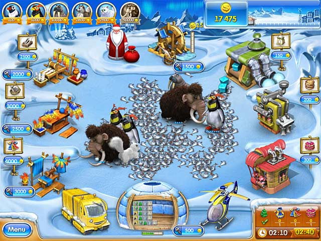 Game screenshot 3 Farm Frenzy 3: Ice Age