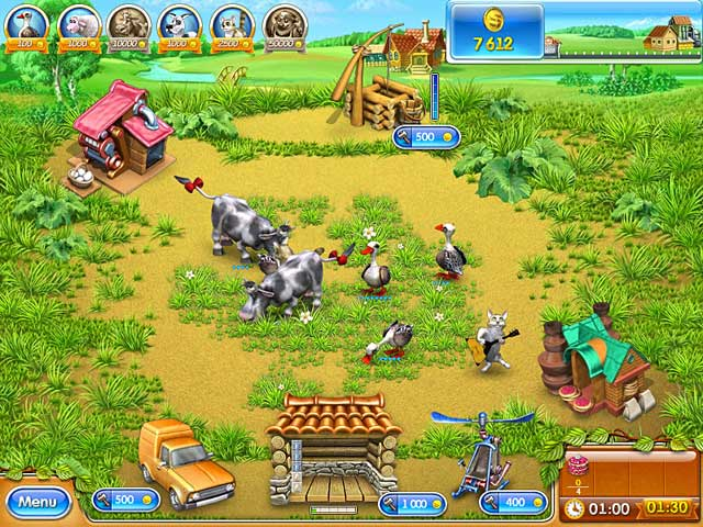 Game screenshot 1 Farm Frenzy 3: Russian Roulette