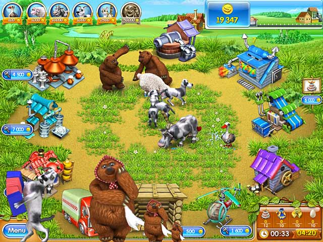 Game screenshot 2 Farm Frenzy 3: Russian Roulette