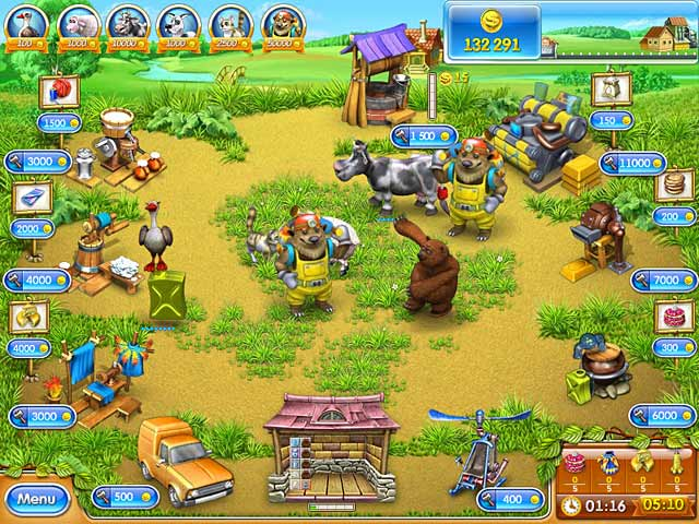 Game screenshot 3 Farm Frenzy 3: Russian Roulette