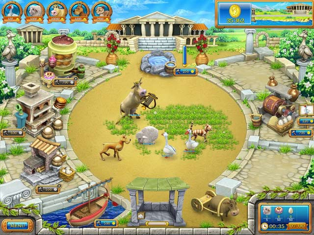 Farm frenzy ancient rome ipad iphone android mac for Feed and grow fish free download full game