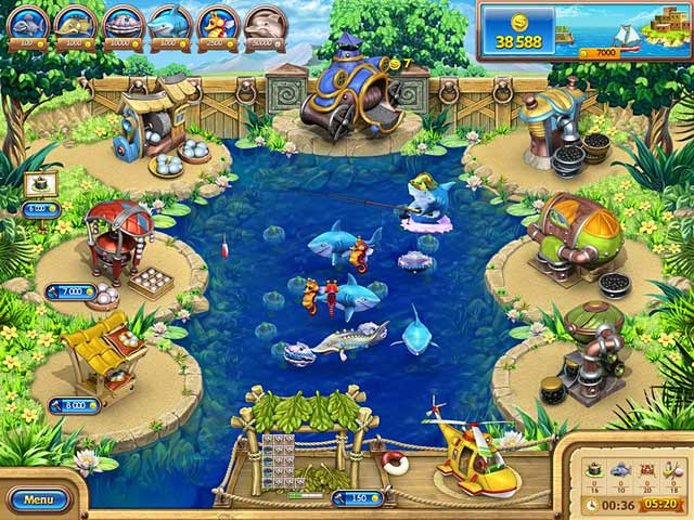 Farm frenzy gone fishing ipad iphone android mac for Big fish games android