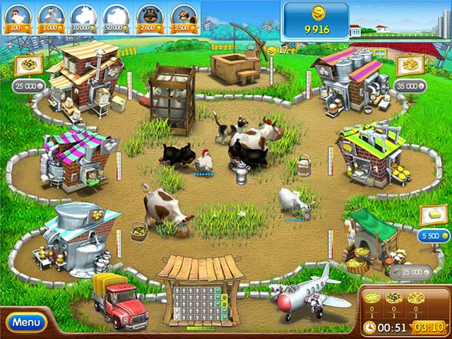 Game screenshot 1 Farm Frenzy Pizza Party