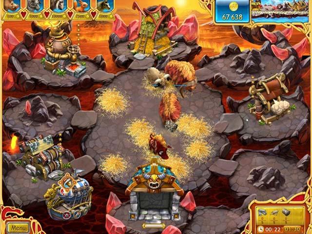Game screenshot 1 Farm Frenzy: Viking Heroes
