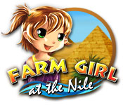 Farm Girl at the Nile casual game