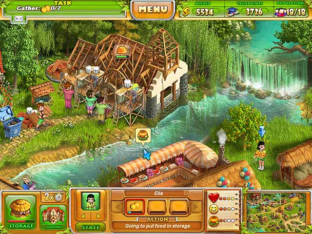 Game screenshot 2 Farm Tribe 2