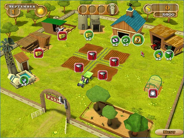 Game screenshot 1 Farmer Jane