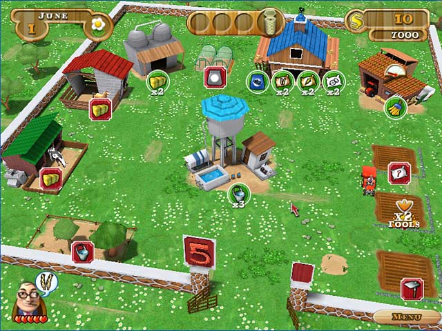 Game screenshot 2 Farmer Jane