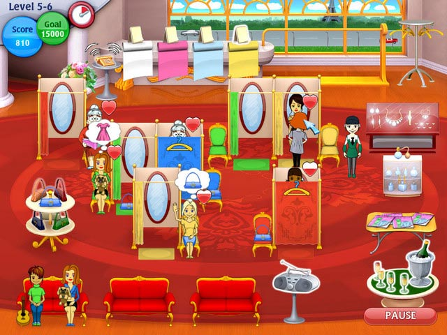 Game screenshot 1 Fashion Dash