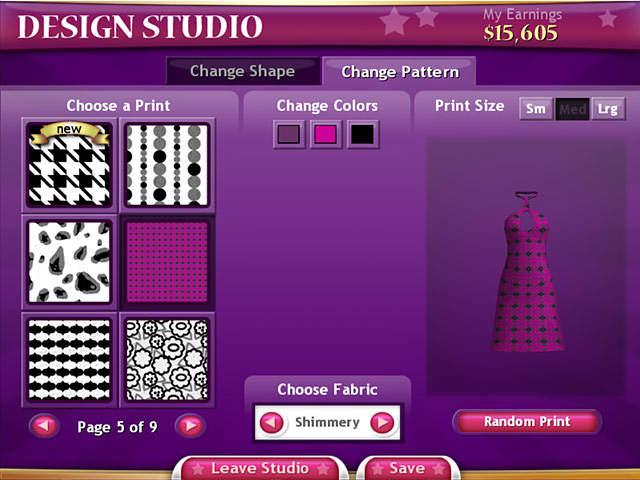 Free online fashion games with levels 22