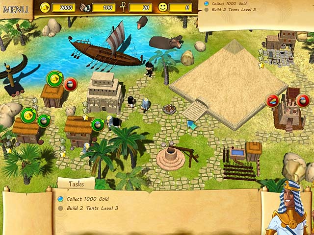 Game screenshot 1 Fate of the Pharaoh