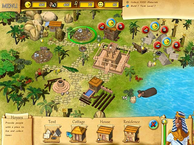 Game screenshot 2 Fate of the Pharaoh
