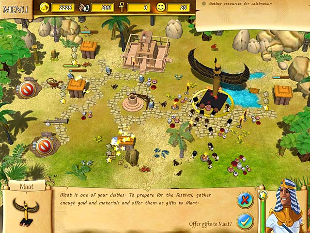 Game screenshot 3 Fate of the Pharaoh