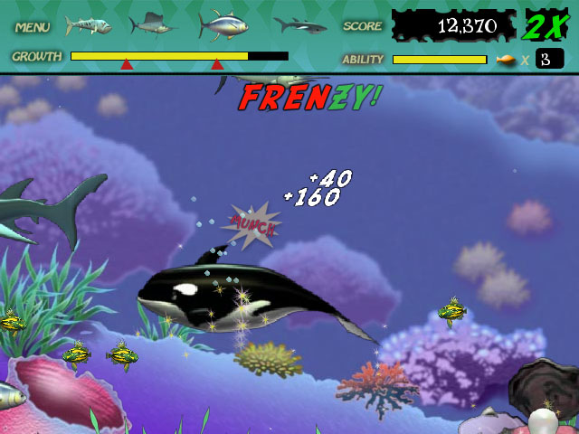 Feeding frenzy ipad iphone android mac pc game for Big fish cooking games
