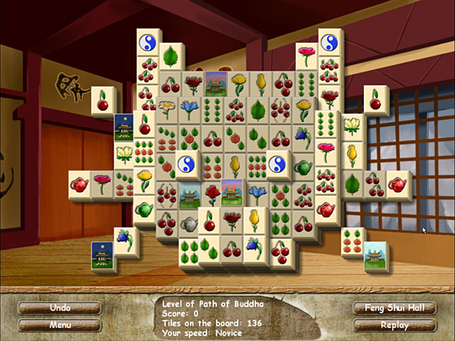 Game screenshot 1 Feng Shui Mahjong