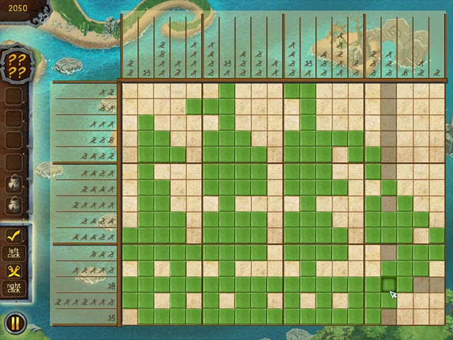 Game screenshot 1 Fill And Cross Pirate Riddles 2