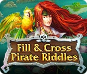 Feature screenshot game Fill and Cross Pirate Riddles