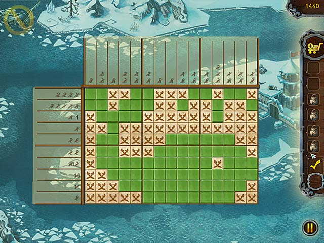 Game screenshot 1 Fill and Cross Pirate Riddles