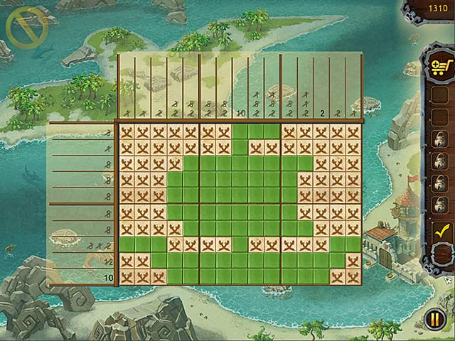 Game screenshot 3 Fill and Cross Pirate Riddles