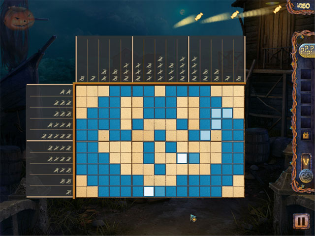 Game screenshot 3 Fill and Cross: Trick or Treat