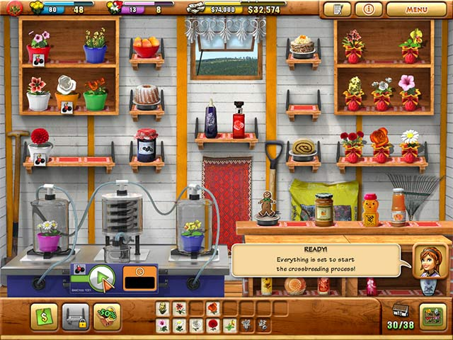 Game screenshot 2 Fiona Finch and the Finest Flowers