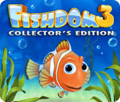 Feature screenshot game Fishdom 3 Collector's Edition