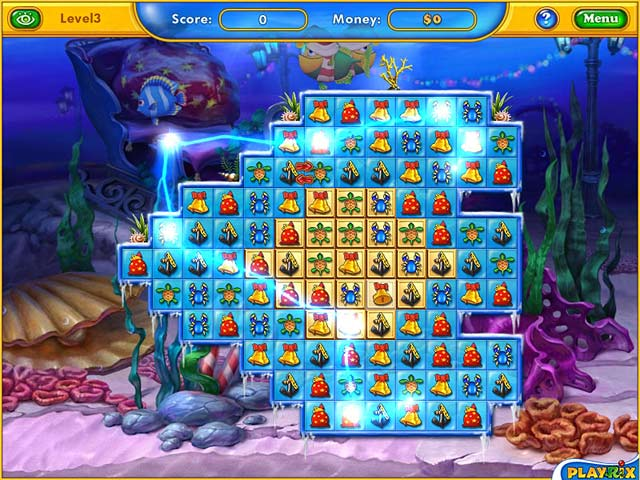 Play fishdom frosty splash online games big fish for Big fish games free download full version